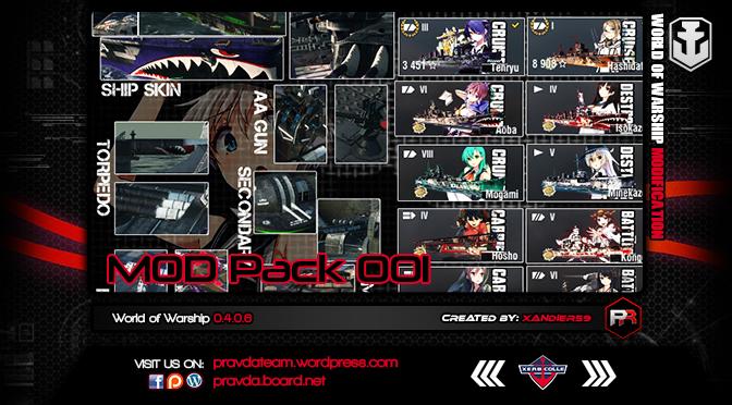 [Xandier59] Mod Pack 001