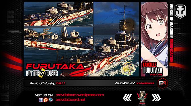 WoWs SKIN: IJN TIER 5 Cruiser – Furutaka Ver1.1