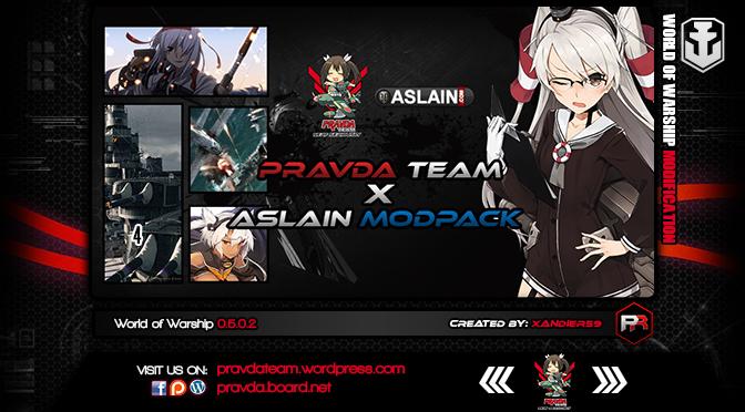 News: PravdaTeam x Aslain's ModPack