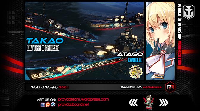 WoWs SKIN: IJN TIER 8 Cruiser – Takao