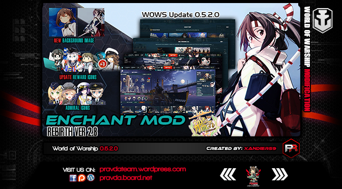 Interface: Kancolle Enchant Rebirth Ver2.8