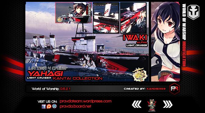 WoWs SKIN: IJN Tier 4 Cruiser – Iwaki Alpha [Yahagi]