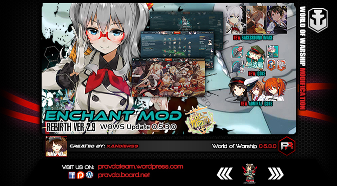 Interface: Kancolle Enchant Rebirth(Basic) Ver2.9