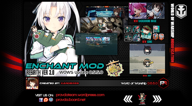 Interface: Kancolle Enchant Ver 3.0