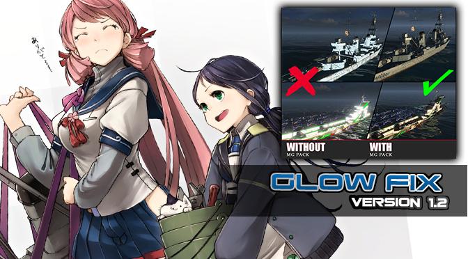 WoWs Skin: Glow Pack Fix v1.2