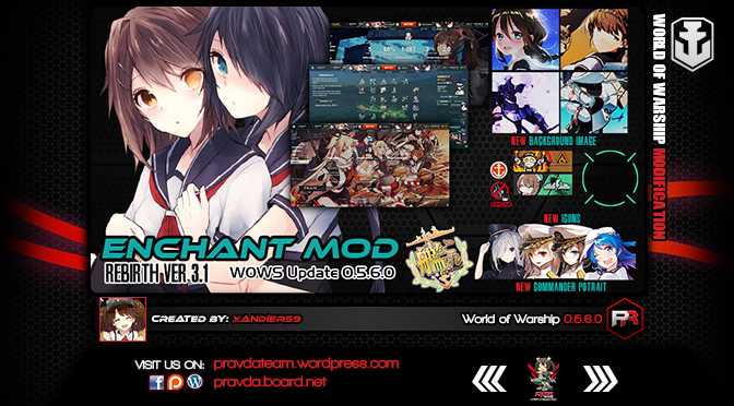 Interface: Kancolle Enchant Ver 3.1