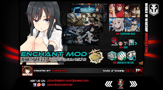 Interface: Kancolle Enchant Ver 3.2