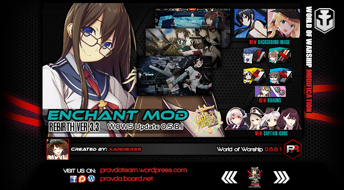 Interface: Kancolle Enchant Ver 3.3
