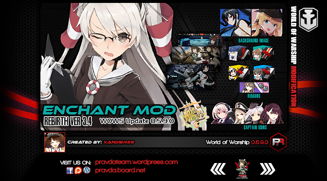 Interface: Kancolle Enchant Ver 3.4