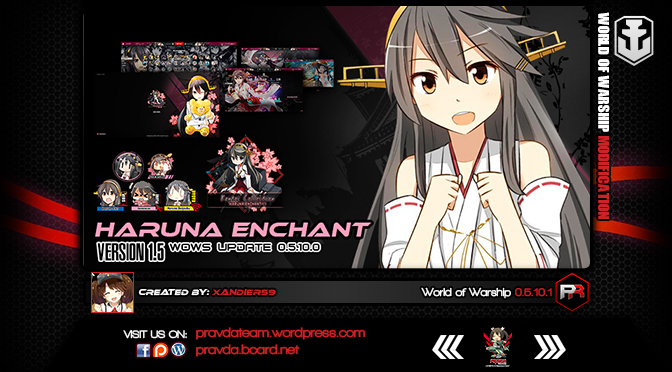 INTERFACE: Haruna Enchant 1.5