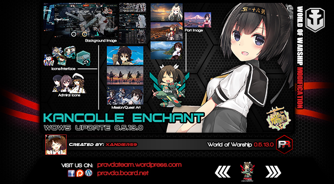 Interface: Kancolle Enchant Ver 3.8