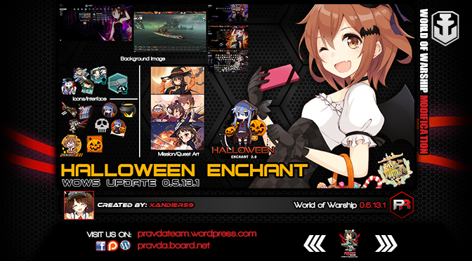 INTERFACE: Halloween Enchant 2.0