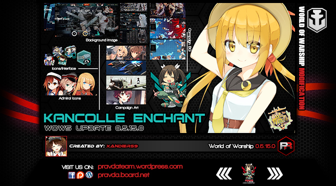 Interface: Kancolle Enchant Ver 3.9