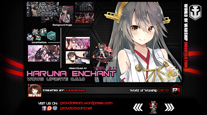 INTERFACE: Haruna Enchant 2.1.1