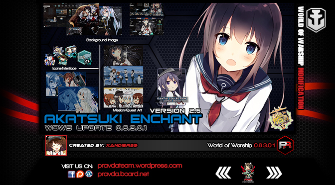 INTERFACE: Akatsuki Enchant 2.5