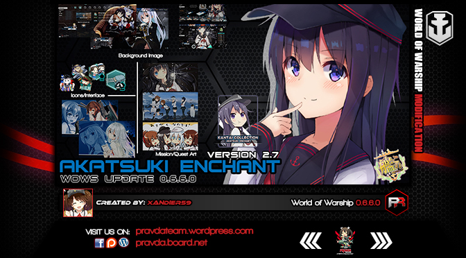 INTERFACE: Akatsuki Enchant 2.7