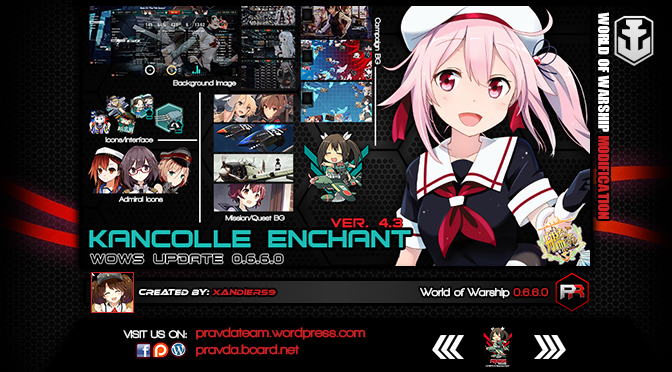 Interface: Kancolle Enchant Ver 4.3