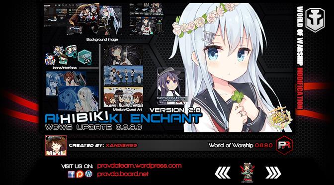 INTERFACE: Akatsuki Enchant 2.8