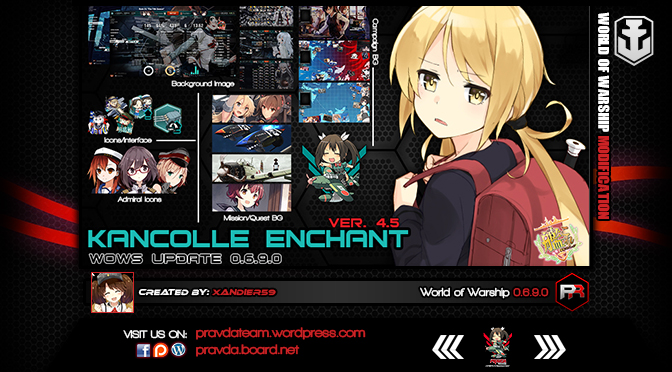 Interface: Kancolle Enchant Ver 4.5