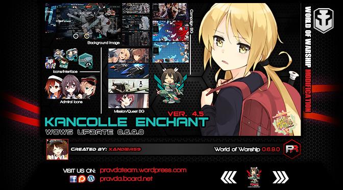 Interface: Kancolle Enchant Ver 4.5