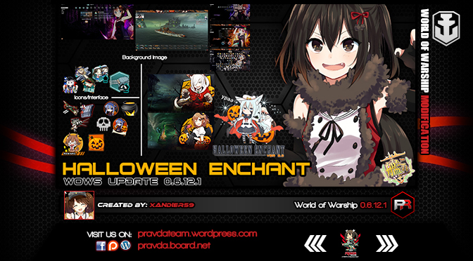 INTERFACE: Halloween Enchant 3.0